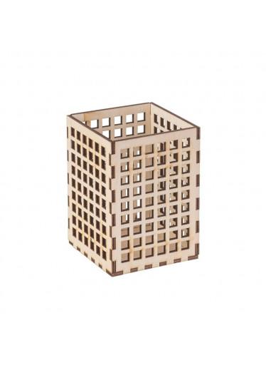 ČistéDřevo Dřevěný stojan na psací potřeby I