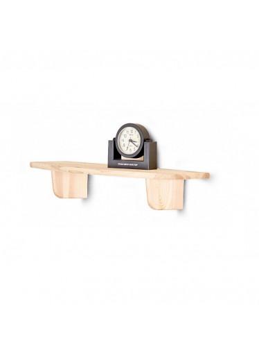 ČistéDřevo Dřevěná nástěnná police 60 cm