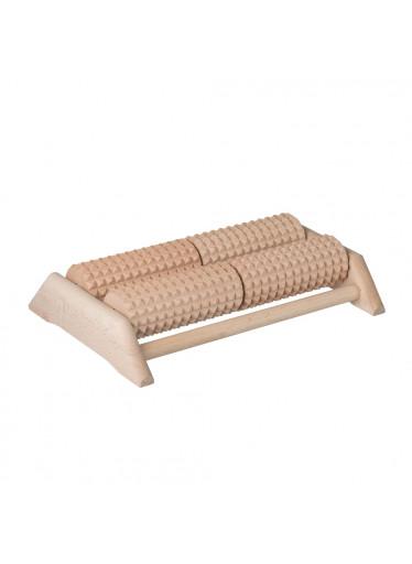 ČistéDřevo Dřevěný masážní strojek na chodidla