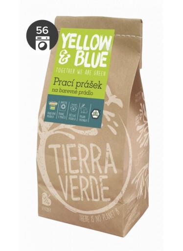 Yellow & Blue Prací prášek na barevné prádlo (papírový sáček 850 g)