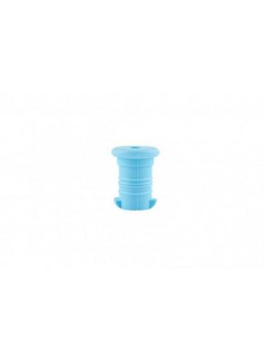 Zdravá lahev Náhradní pítko, barva světle modrá