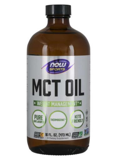 NOW® Foods NOW MCT olej, 473 ml