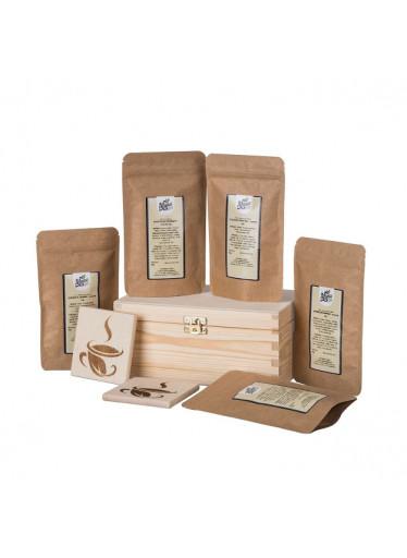 ČistéDřevo Dárková dřevěná krabička - Čajové letní osvežení