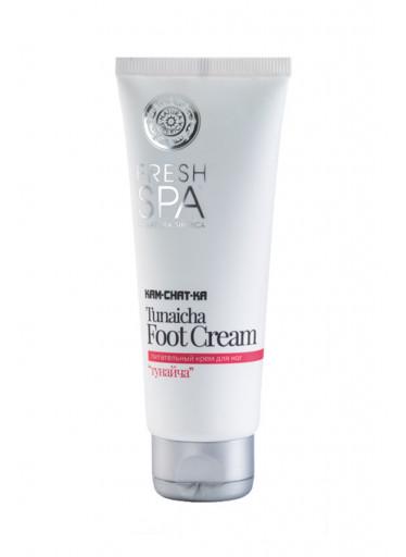 Fresh Spa Kam-chat-ka Výživný krém na nohy Tunaicha, 75 ml