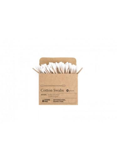 Hydrophil Vatové tyčinky do uší (100 ks) - z bavlny a bambusu