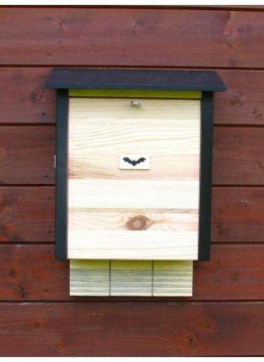 Budka pro netopýry - velká dřevěná typ 2015