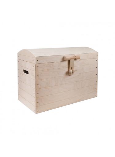 ČistéDřevo Dřevěná truhla I