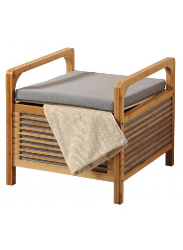 Kesper Bambusový stolek s polstrováním