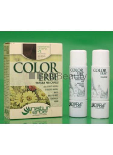 Color Erbe Barva na vlasy No.04 Světle hnědá. 5.0