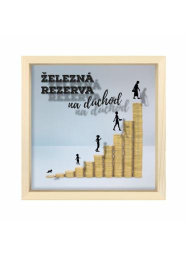 Albi Pokladnička - Rezerva na důchod