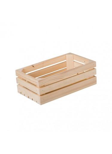 ČistéDřevo Dřevěná bedýnka 34 x 20 x 12 cm II