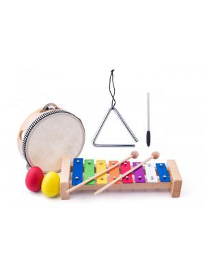 Woody Dřevěný muzikální set