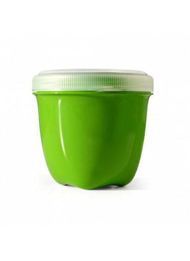 Preserve Svačinový box (240 ml) - zelený - ze 100% recyklovaného plastu