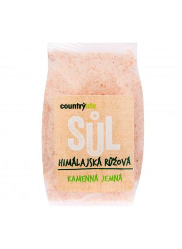Country Life Sůl himálajská růžová jemná 500g  COUNTRYLIFE