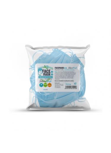 Jednorázové roušky s nanosilver ochranou - bag 10ks
