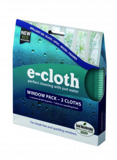 E-cloth Sada hadříků na okna - 2ks