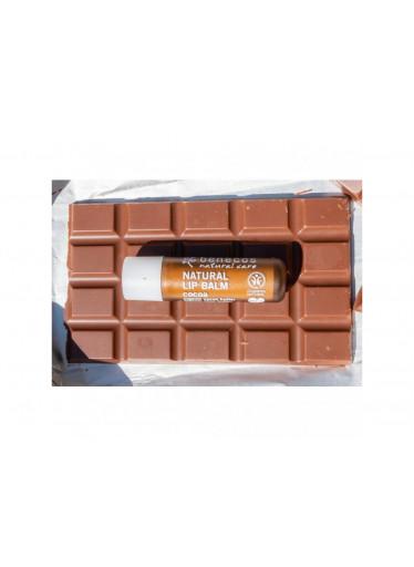 Benecos Balzám na rty Kakao BIO, VEG