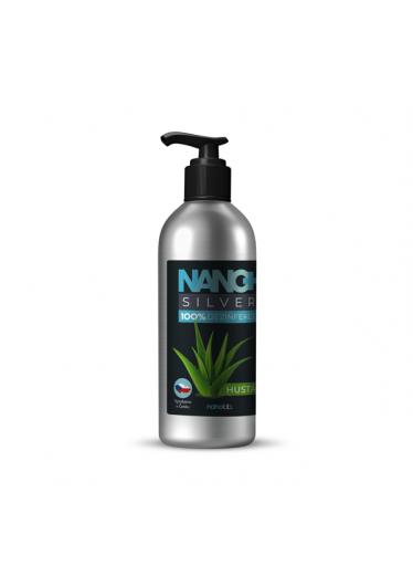 NANO+ Silver HUSTÁ dezinfekce na ruce 150 ml eco-friendly