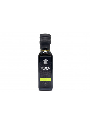 BrainMax Pure CéBéDé konopný olej, 100 ml
