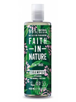 Faith in Nature - Přírodní šampon TeaTree 400ml
