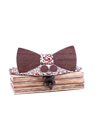 ČistéDřevo Dřevěný motýlek XIII