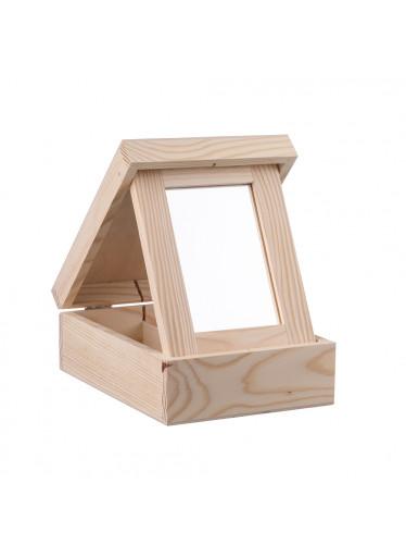 ČistéDřevo Dřevěná šperkovnice VI
