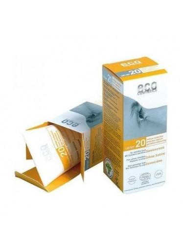 Eco Cosmetics Opalovací krém SPF 20 BIO (75 ml) - 100% přírodní, s minerálními filtry