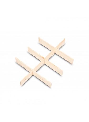 ČistéDřevo Přírodní oddělovač 57x37x6,5 cm