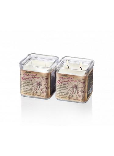 Stuwa Svíčka se dvěma knoty ve skle - vanilka (210 g) (1 ks) - dva knoty = dvojnásobná pohoda