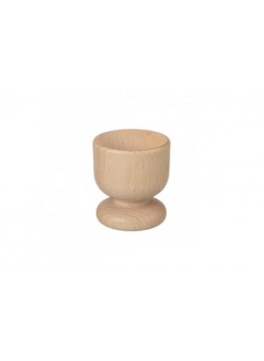 ČistéDřevo Dřevěný kalíšek na vejce 5 cm
