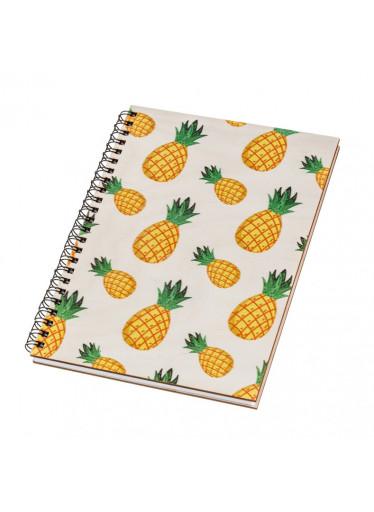 ČistéDřevo Dřevěný blok A5 - ananas