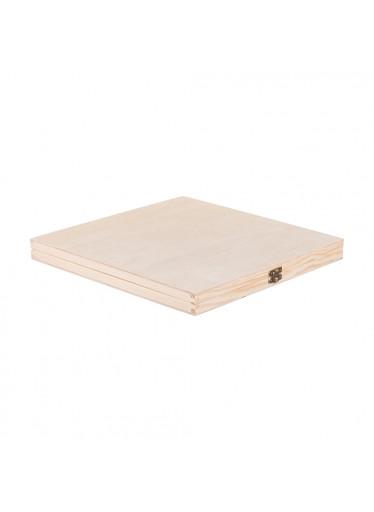 ČistéDřevo Dřevěná krabička na dokumenty