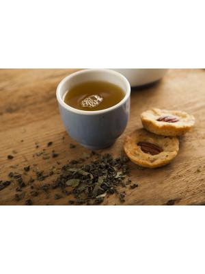 mamacoffee zelený čaj sypaný 70g Le touarég - s marockou mátou