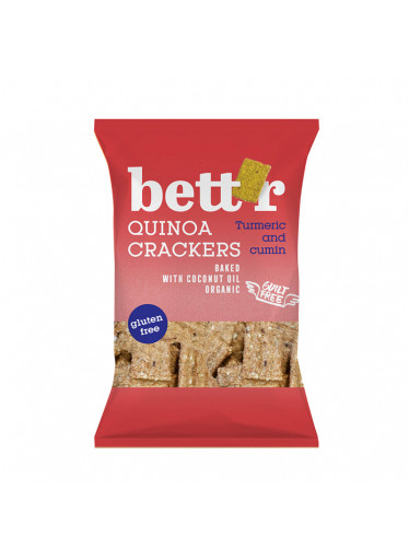 Bett'r Krekry quinoa & kurkuma BIO 100 g