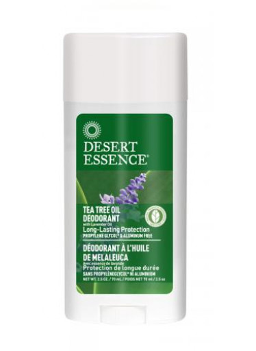 Desert Essence Deodorant Tea Tree a levandule 70ml DE