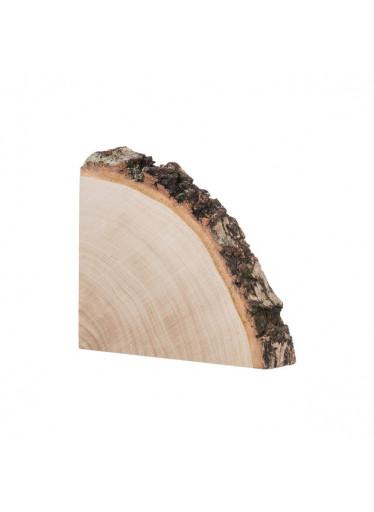 ČistéDřevo Dřevěná podložka ze čtvrt kmene břízy