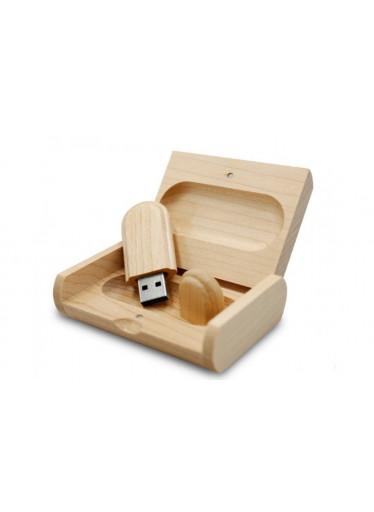 ČistéDřevo Dřevěný USB disk 16GB s vlastním věnováním
