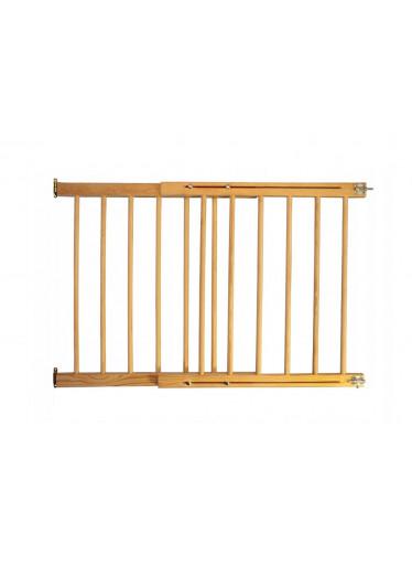 ČistéDřevo Dřevěná bezpečnostní zábrana 72-122 x 76 cm