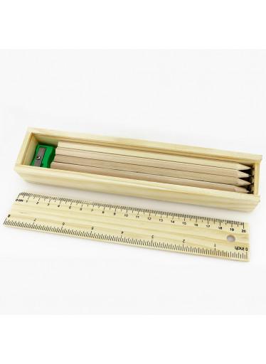 ČistéDřevo Dřevěné tužky - sada 12ks