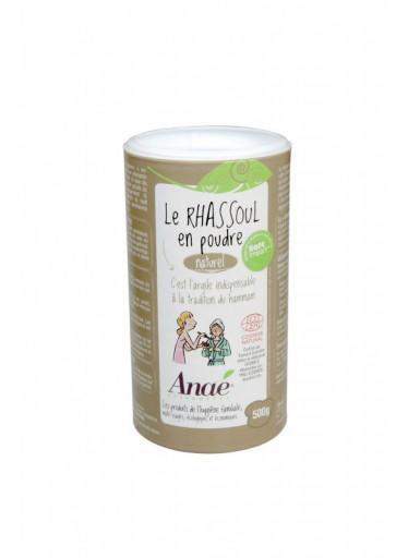 Ecodis Rhassoul - marocký jíl (dóza 500 g) - šampon, peeling nebo maska