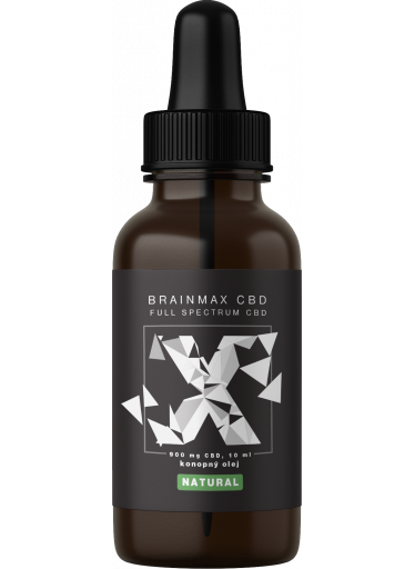 BrainMax CBD NATURAL, 9%, 10 ml