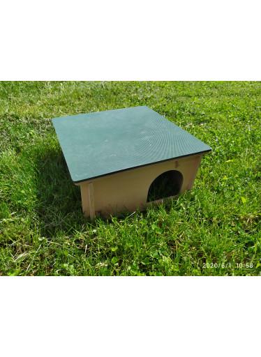 Krmná stanice/domek pro ježky