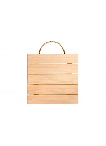 ČistéDřevo Dřevěná cedulka na pověšení