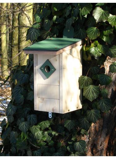 Ptačí budka dřevěná 3 v 1