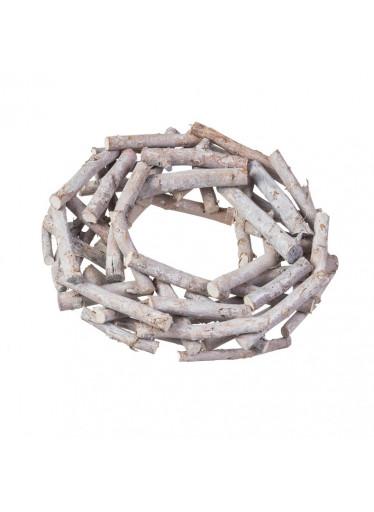 ČistéDřevo Vrbový věnec z větví 37 cm