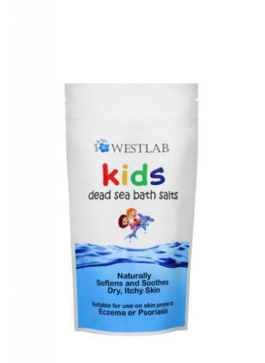 WESTLAB dětská koupelová sůl z mrtvého moře 500g