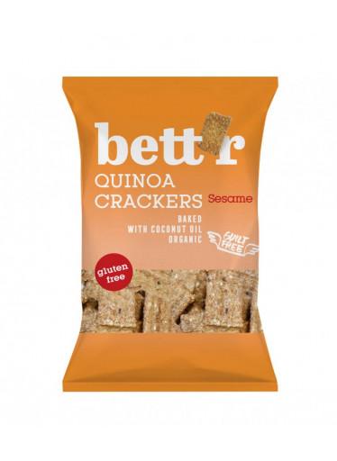 Bett'r Krekry quinoa & sezam BIO 100g