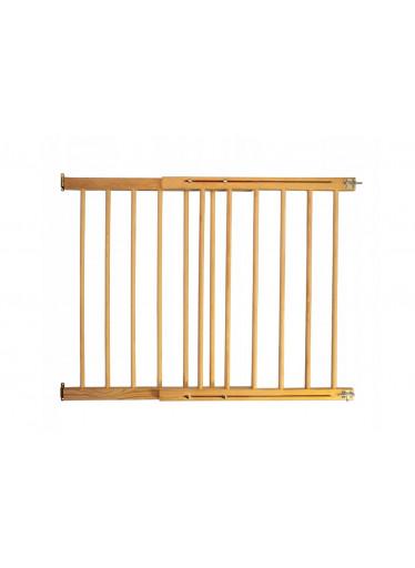 ČistéDřevo Dřevěná bezpečnostní zábrana 72-122 x 84 cm
