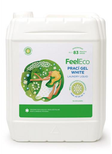 Feel Eco prací gel na bílé prádlo 5 l, 5000