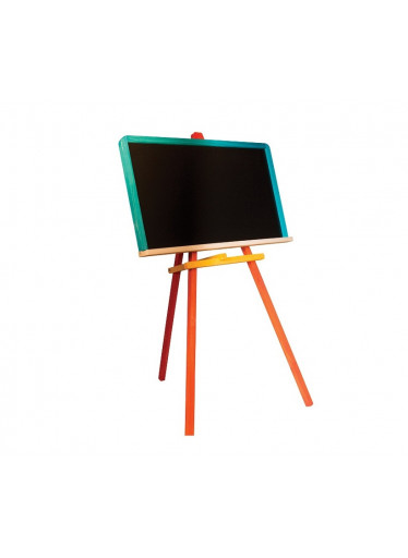 ČistéDřevo Dětská barevná tabule dřevěná